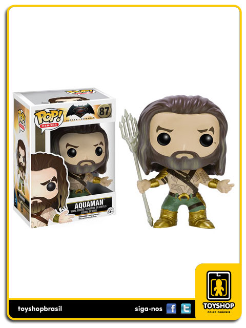Batman v Superman: Aquaman  Pop - Funko