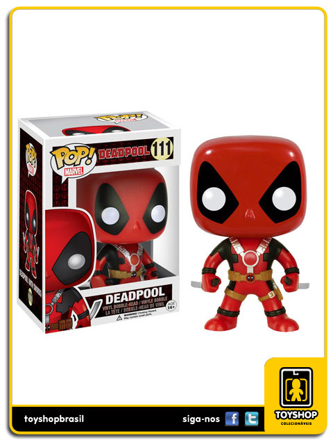 Deadpool: Deadpool (With Swords) Pop - Funko