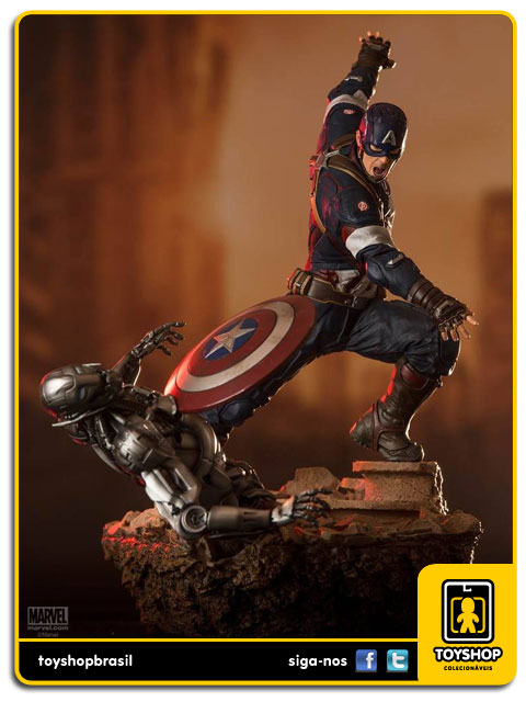Avengers Age of Ultron: Captain America Diorama 1/6 - Iron Studios
