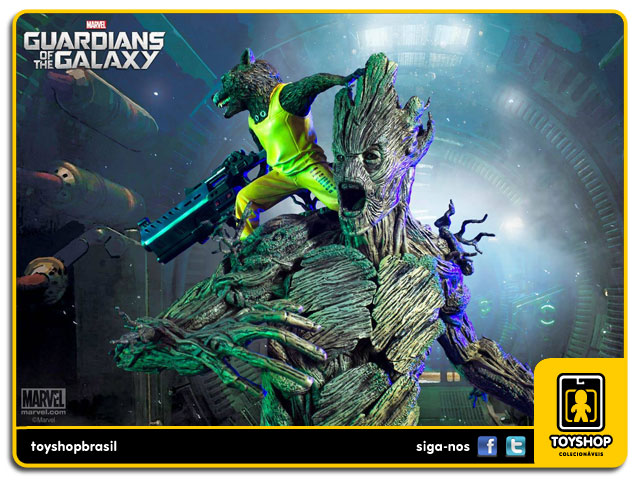 Guardians of the Galaxy: Rocket & Groot Prison Breakout - Diorama 1/6 - Iron Studios