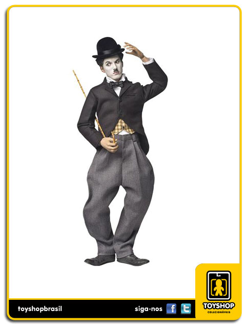 Charlie Chaplin Tramp: 100th Anniversary 1/6 Deluxe Version - ZC World