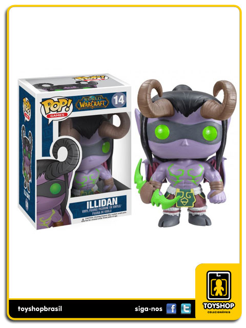 World of WarCraft: Illidan  Pop - Funko