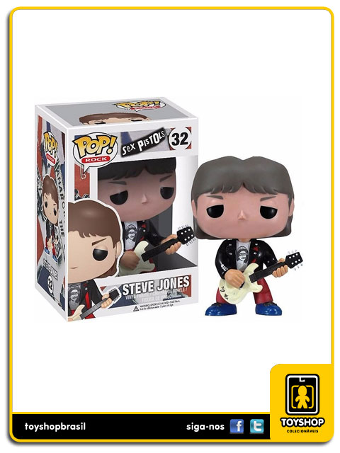 Sex Pistols: Steve Jones   Pop - Funko