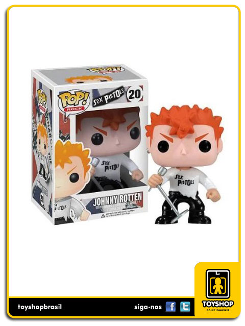 Sex Pistols: Johnny Rotten  Pop - Funko
