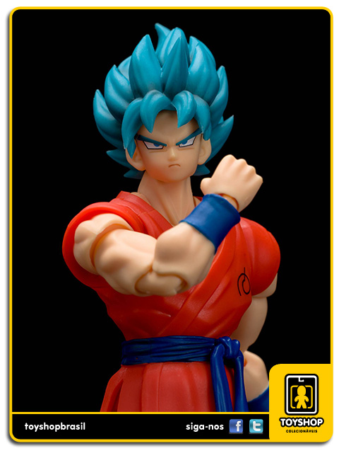 Dragon Ball Z S.H. Figuarts: Super Saiyan Son Goku God - Bandai