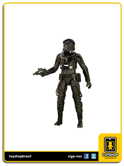 Star Wars The Force Awakens Black Series: First Order Tie Fighter Pilot - Hasbro