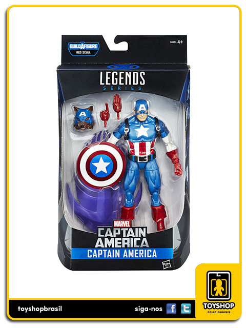 Marvel Infinite Red Onslaught: Captain America - Hasbro