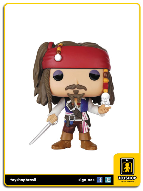 Pirates of the Caribbean: Capt. Jack Sparrow Pop - Funko