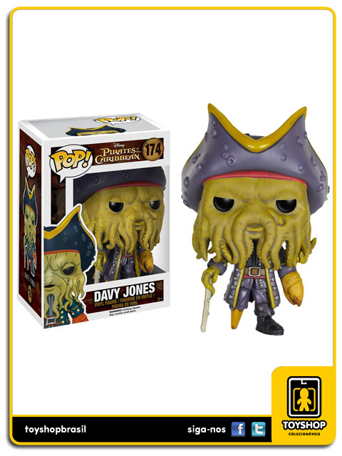 Pirates of the Caribbean: Davy Jones Pop - Funko