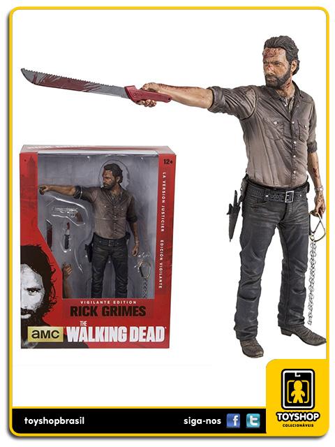 The Walking Dead: Rick Grimes Vigilante Edition 10´ - Mcfarlane