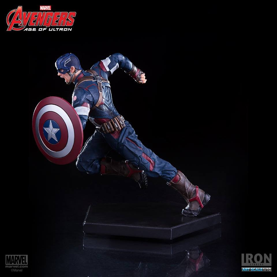 Avengers Age of Ultron: Captain America 1/10 - Iron Studios