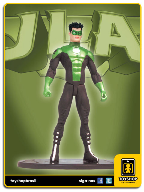 JLA:  Green Lantern Kyle Rayner - Dc Collectibles