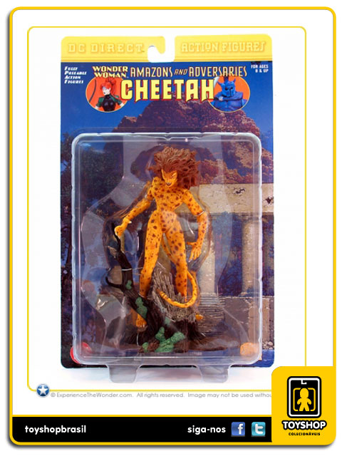 Wonder Woman Amazons and Adversaries: Cheetah - DC Direct