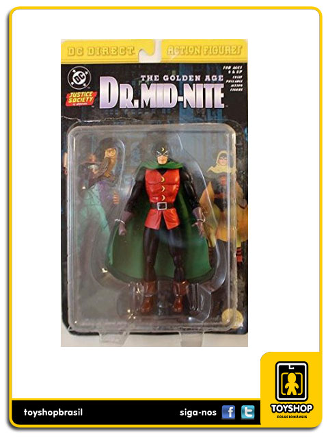JSA The Golden Age: Dr.Mid-Nite - Dc Direct