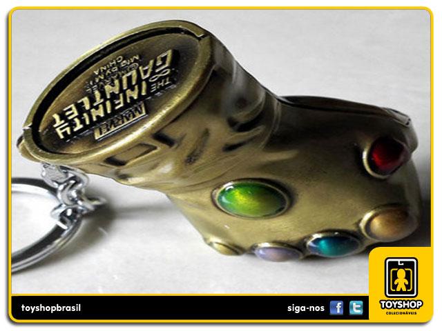 Marvel: Chaveiro Thanos  Infinity Gauntlet  - Monogram