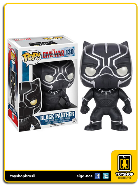 Captain America Civil War: Black Panther Pop - Funko