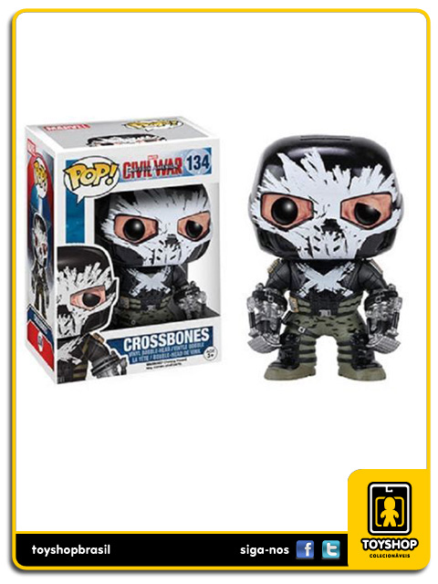 Captain America Civil War: Crossbones Pop - Funko
