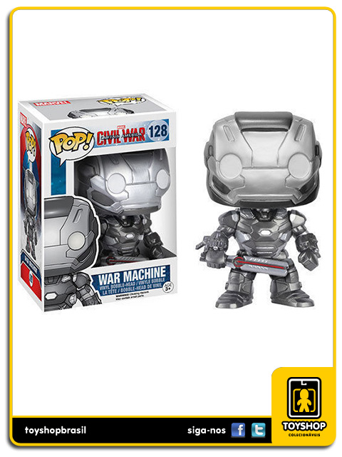 Captain America Civil War: War Machine Pop - Funko