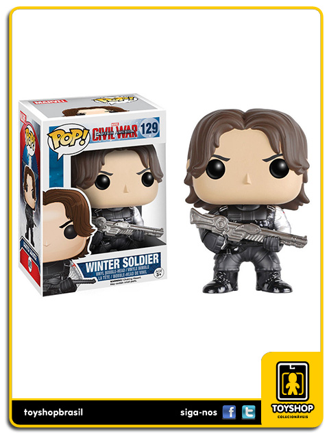 Captain America Civil War: Winter Soldier Pop - Funko