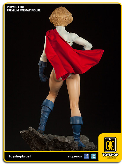 Dc Comics Premium Format: Estátua Power Girl - Sideshow Collectibles