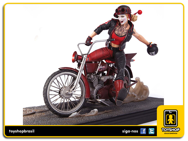 Gotham City Garage: Estátua Harley Quinn - DC Collectibles