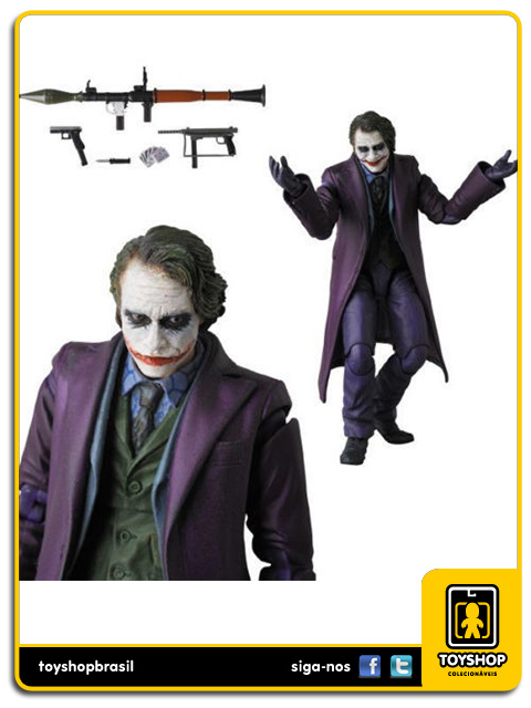 Batman The Dark Knight: The Joker Mafex - Medicom