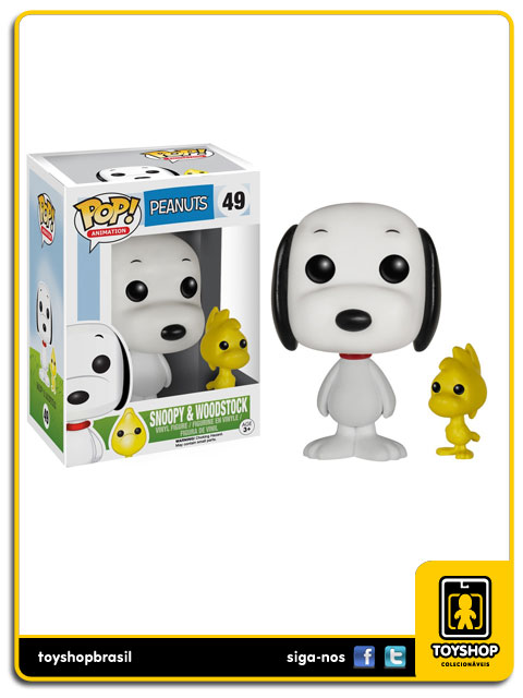 Peanuts: Snoopy & Woodstock  Pop - Funko