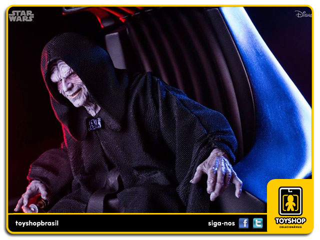 Star Wars: Emperor Palpatine Art Scale - Iron Studios