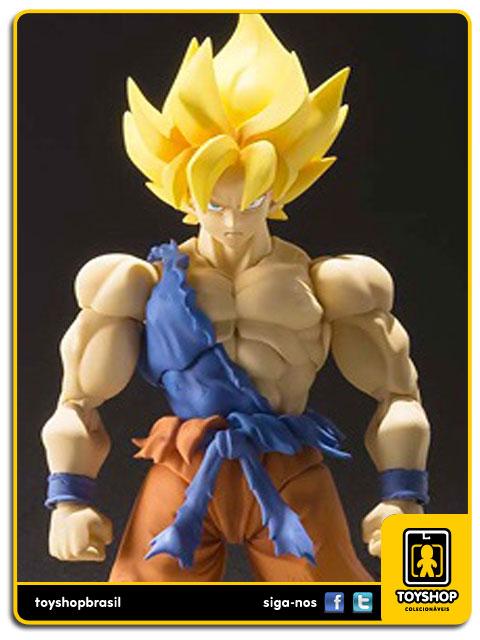 Dragon Ball Z S.H. Figuarts SS Son Goku Awakening  Bandai