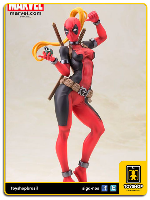 Marvel Bishoujo: Lady Deadpool - Kotobukiya
