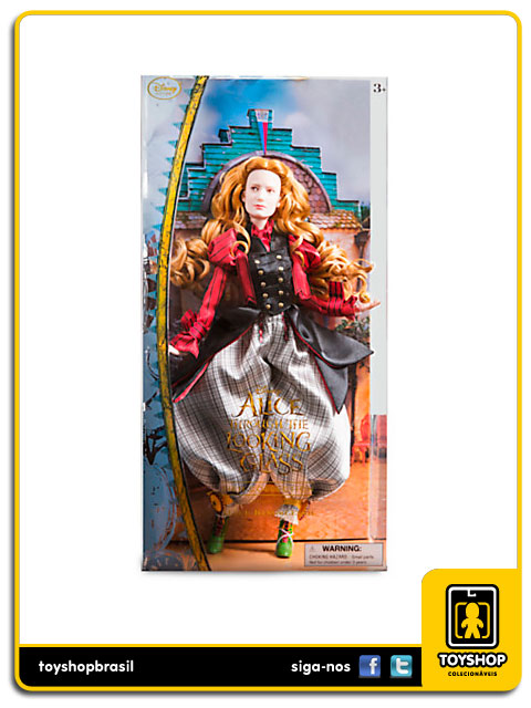 Alice Through The Looking Glass: Alice Doll - Disney Store