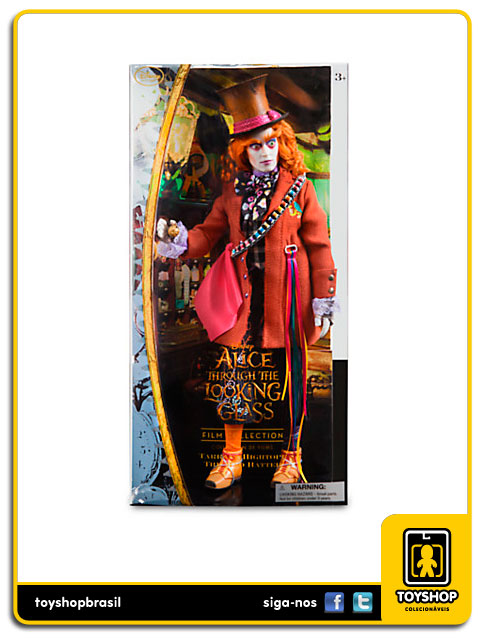 Alice Through The Looking Glass: Mad Hatter Doll - Disney Store