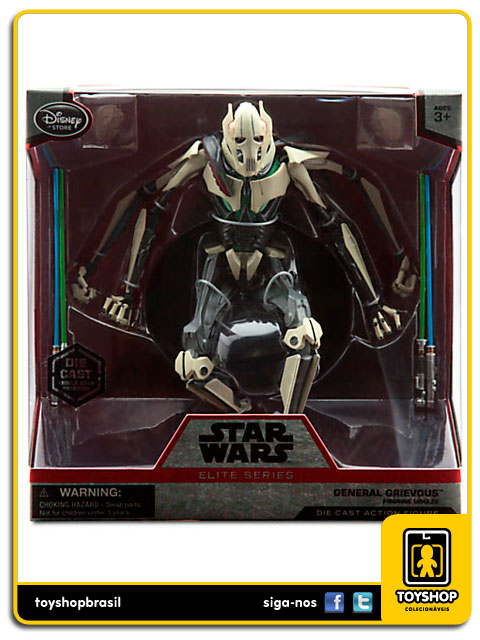 Star Wars Elite Series: General Grievous Diecast - Disney Store