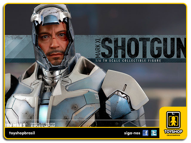 Iron Man 3: Iron Man Mark XL Shotgun Special Edition - Hot Toys
