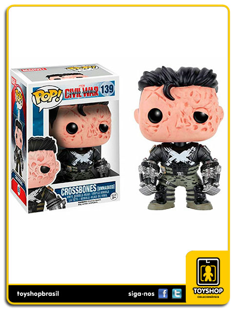 Captain America Civil War: Crossbones Exclusivo Pop - Funko