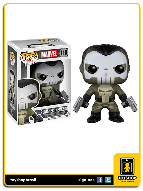 Marvel: Punisher Nemesis Pop - Funko