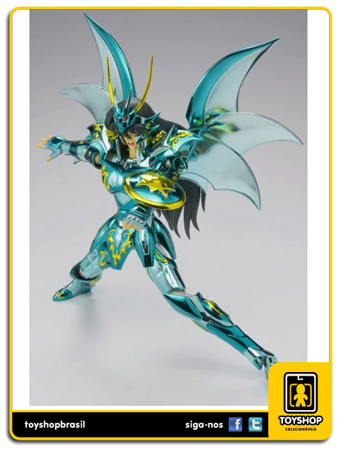 Cavaleiros do Zodíaco 10th Anniversary: Shiryu de Dragão God - Cloth Myth