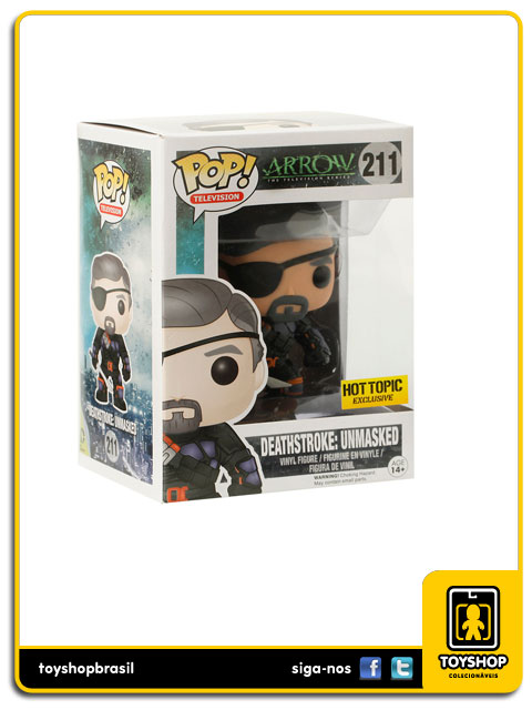 Arrow: Deathstroke: Unmasked Hot Topic Exclusive Pop - Funko