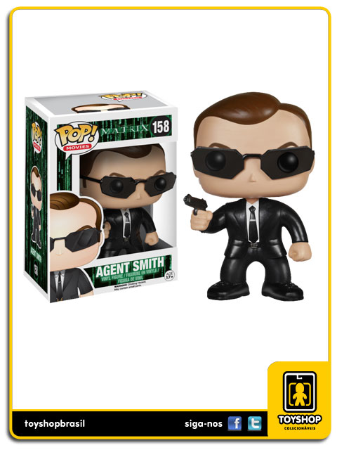 Matrix: Agent Smith Pop - Funko