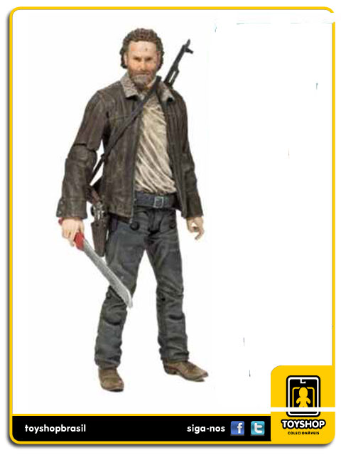 The Walking Dead 8: Rick - Mcfarlane