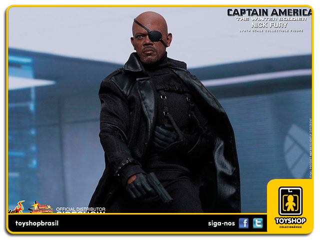 Captain America The Winter Soldier: Nick Fury - Hot Toys