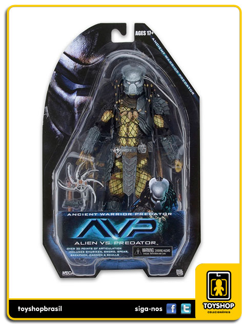 AVP Alien vs Predator: Ancient Warrior Predator - Neca