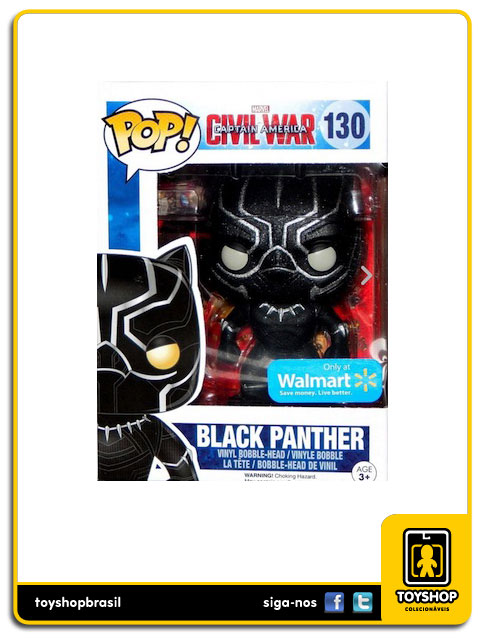 Captain America Civil War: Black Panther Exclusive Pop - Funko