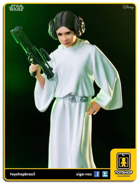 Star Wars: Estátua Princess Leia Art Scale 1/10 - Iron Studios