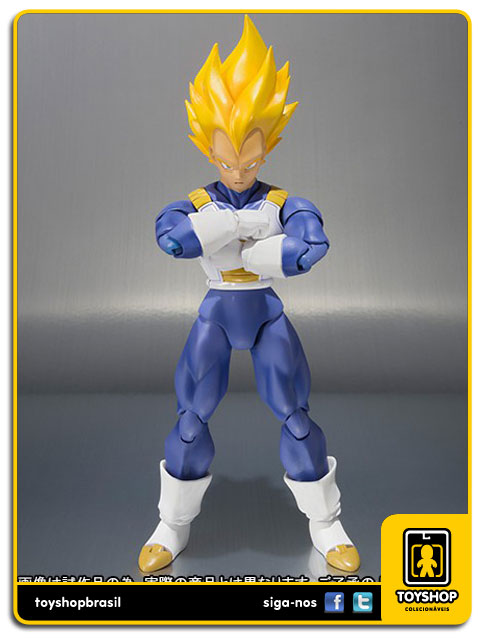 Dragon Ball Z S.H. Figuarts: Super Saiyan Vegeta Premium Color Edition - Bandai
