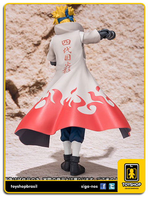 Naruto Shippuden S.H. Figuarts: Minato Namikaze - Bandai