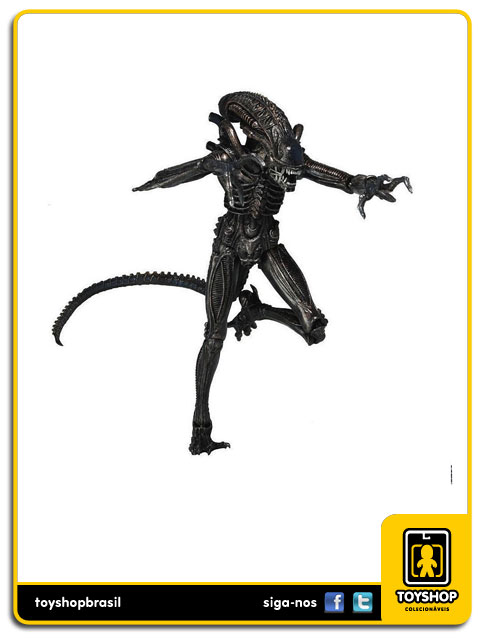 Aliens Genocide: Xenomorph Warrior (Black) - Neca