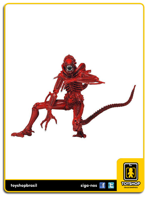 Aliens Genocide: Xenomorph Warrior (Red) - Neca