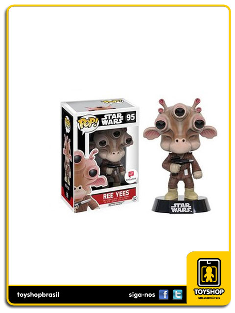 Star Wars: Ree Yees W Exclusive Pop - Funko