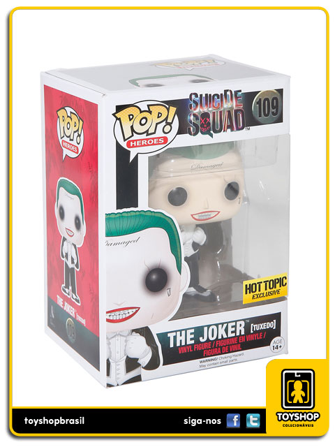 Suicide Squad: The Joker Tuxedo Hot Topic Exclusive Pop - Funko